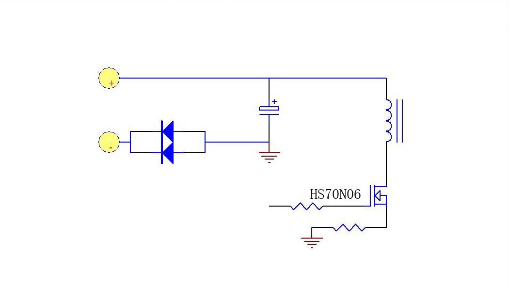 通常情况下直流电源输入防反接保护电路是利用二极管的单向导电性来