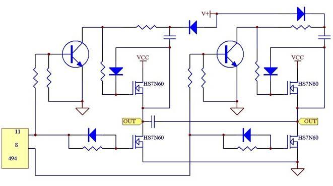 homsemi power mosfet驱动电路应用实例